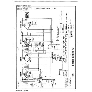 Tele-tone Radio Corp. 100A