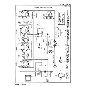 Texan Radio Mfg. Co. 204