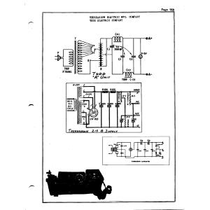 "Todd Electric Company ""A"" Unit"