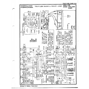 Traveler Radio & Television Corp. 1556