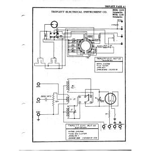 Triplett Electrical Instrument Co. 1150