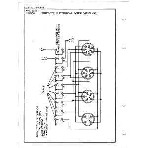 Triplett Electrical Instrument Co. 1166