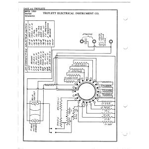 Triplett Electrical Instrument Co. 1200