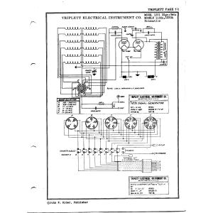 Triplett Electrical Instrument Co. 1231 Signal Generator