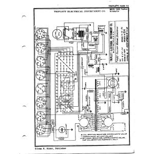 Triplett Electrical Instrument Co. 1502 Tester
