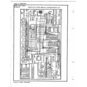 Triplett Electrical Instrument Co. 1503 Tester