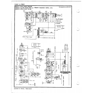 Troy Radio & Telev. Co. 153C AC-DC