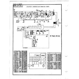 United American Bosch Corp. 150 Type 1