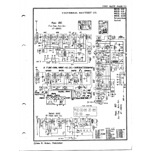 Universal Battery Co. 5032