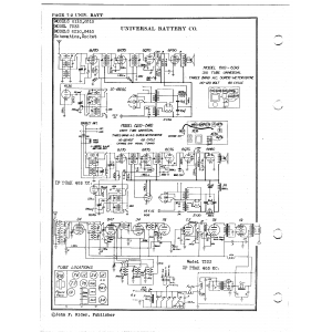 Universal Battery Co. 6110