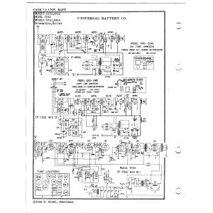 Universal Battery Co. 6310