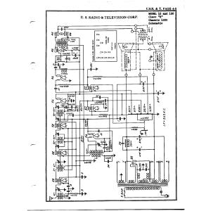 U.S. Radio & Television Corp. 1200 Chassis