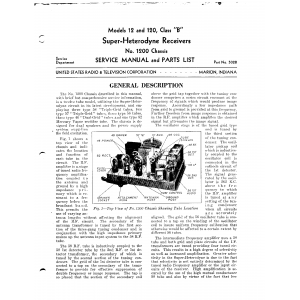 U.S. Radio & Television Corp. 120