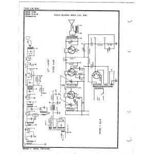 Voco Radio Mfg. Co., Inc. V-41-N