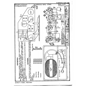 Warwick Mfg. Corp. 0-407