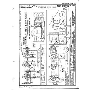 Warwick Mfg. Corp. 0-409