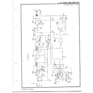 Watterson Radio Mfg. Co. 4820