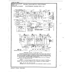 Watterson Radio Mfg. Co. 650