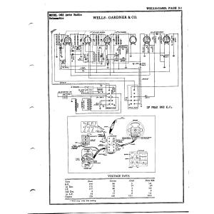 Wells-Gardner & Co. 062 Auto Radio