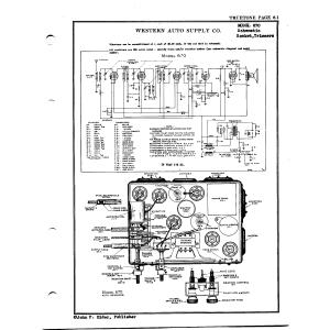 Western Auto Supply Co. 670