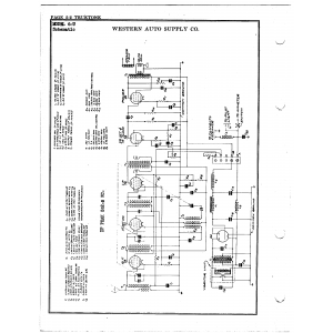 Western Auto Supply Co. 6-U