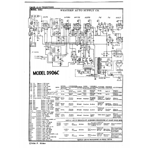 Western Auto Supply Co. 906C