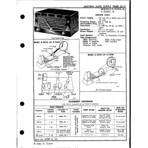 Western Auto Supply Co. D-2103B