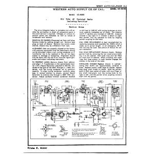 Western Auto Supply of California 43-8685