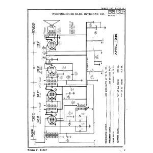 Westinghouse Elec. International Co. B470-A
