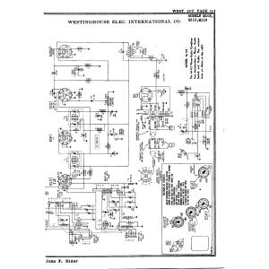 Westinghouse Elec. International Co. M103