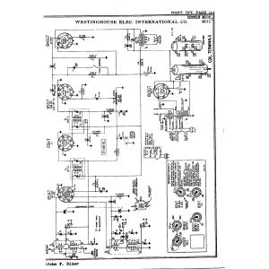 Westinghouse Elec. International Co. M111