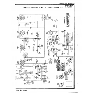 Westinghouse Elec. International Co. M116