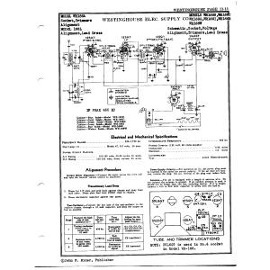 Westinghouse Electric Corp. 166L