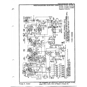 Westinghouse Electric Corp. H-105B