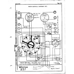 Weston Electrical Instrument Co. 537