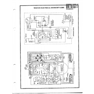Weston Electrical Instrument Co. 540, Type 2