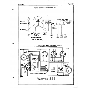 Weston Electrical Instrument Co. 555