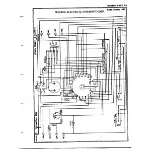 Weston Electrical Instrument Co. 660