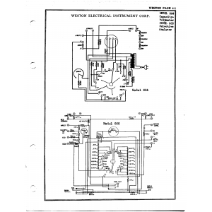 Weston Electrical Instrument Co. 665