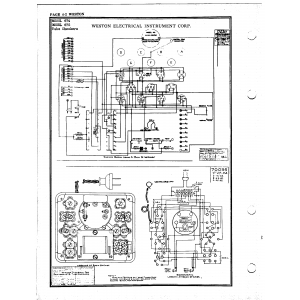 Weston Electrical Instrument Co. 674