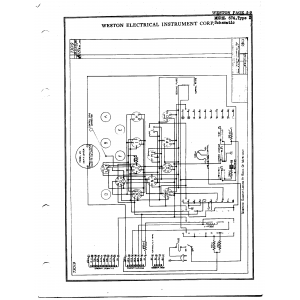 Weston Electrical Instrument Co. 674, Type 2