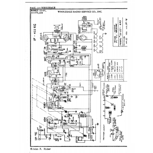 Wholesale Radio Service Co., Inc. CC-57