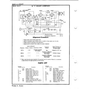 W.T. Grant Company 405/7