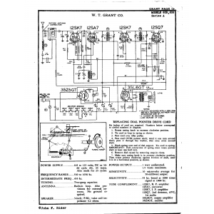 W.T. Grant Company 606