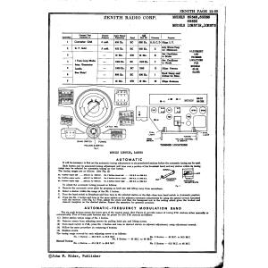 Zenith Radio Corp. 10H573