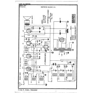 Zephyr Radio Co. 32Y5