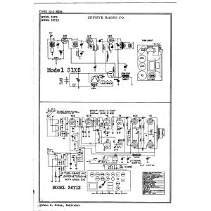 Zephyr Radio Co. 331X5