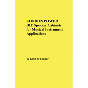 London Power DIY Speaker Cabinets for Musical Instrument Applications