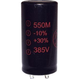 Capacitor - JJ Electronics, 385V, 550µF, Electrolytic