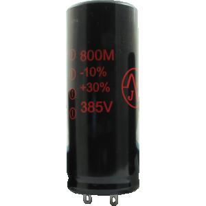Capacitor - JJ Electronics, 385V, 800µF, Electrolytic